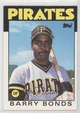 1986 Topps Traded - [Base] #11T - Barry Bonds