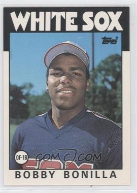 1986 Topps Traded - [Base] #12T - Bobby Bonilla