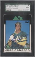 Jose Canseco [SGC AUTHENTIC AUTO]