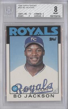 1986 Topps Traded - [Base] #50T - Bo Jackson [BGS8]
