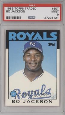 1986 Topps Traded - [Base] #50T - Bo Jackson [PSA9]