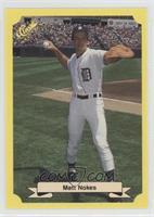 Matt Nokes Baseball Cards Matching 1987 Classic Update Yellow 129