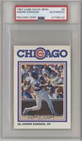 Andre Dawson [PSA Authentic]