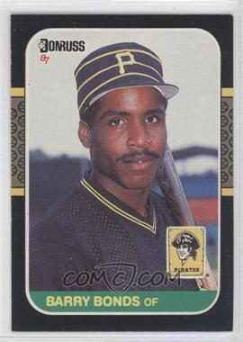 1987 Donruss - [Base] #361 - Barry Bonds
