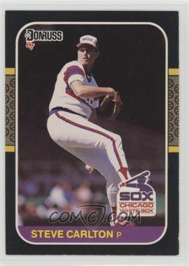 1987 Donruss - [Base] #617 - Steve Carlton - Courtesy of COMC.com