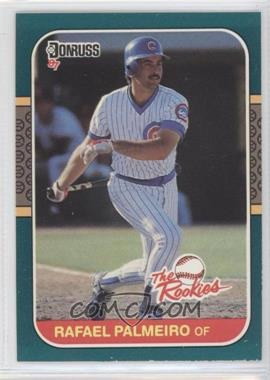 1987 Donruss The Rookies - Box Set [Base] #47 - Rafael Palmeiro