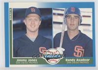 Jimmy Jones, Randy Asadoor