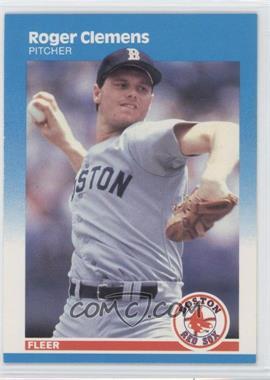 1987 Fleer - [Base] #32 - Roger Clemens