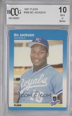 1987 Fleer - [Base] #369 - Bo Jackson [ENCASED]