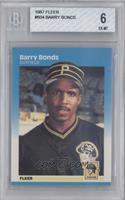 Barry Bonds [BGS6EX‑MT]