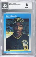 Barry Bonds [BGS8NM‑MT]