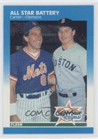 Gary Carter, Roger Clemens
