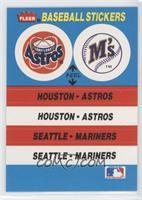Houston Astros Team, Seattle Mariners Team