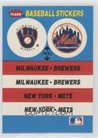 Milwaukee Brewers Team, New York Mets Team
