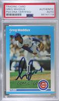Greg Maddux [PSA Authentic PSA/DNA Cert]