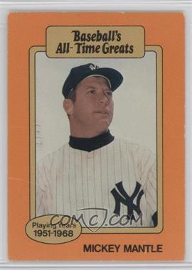 1987 Hygrade Baseballs All Time Greats Base Mima1