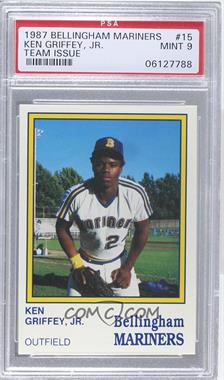 1987 International Sportcard Bellingham Mariners - [Base] #15 - Ken Griffey Jr. [PSA 9 MINT]
