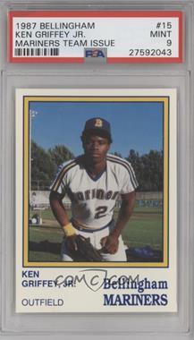 1987 Internationals Sportcard Bellingham Mariners - [Base] #15 - Ken Griffey Jr. [PSA9]