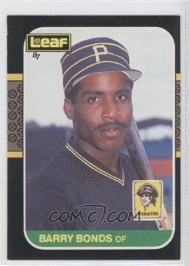 1987 Leaf Canadian - [Base] #219 - Barry Bonds