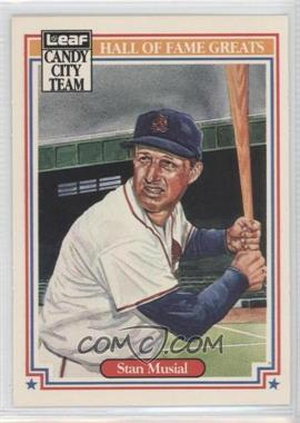 1987 Leaf Candy City Team - [Base] #H4 - Stan Musial