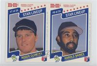 Roger Clemens, Harold Baines [Noted]