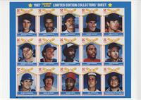 Nolan Ryan, Steve Garvey, Wade Boggs, Dave Winfield, Don Mattingly, Don Sutton,…