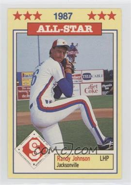 1987 Southern League All-Stars - [Base] #16 - Randy Johnson
