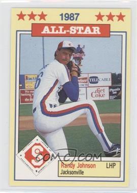 1987 Southern League All-Stars - [Base] #16 - Randy Johnson