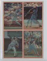 Don Mattingly, Tim Raines, Roger Clemens, Mike Schmidt