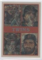 Minnesota Twins Team, Gary Gaetti, Roy Smalley Jr., Kirby Puckett, Tom Brunansk…
