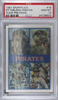 Pittsburgh Pirates Team, John Smiley, Sid Bream, Mike Diaz, R.J. Reynolds, Barr…