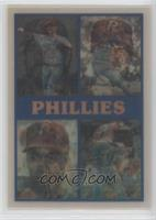 Philadelphia Phillies Team, Von Hayes, Steve Bedrosian, Kevin Gross, Don Carman…