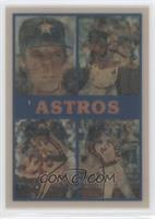 Houston Astros Team, Glenn Davis, Bob Knepper, Kevin Bass, Mike Scott, Charlie …