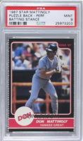 Don Mattingly (Yankee Great Puzzle Back batting stance) [PSA 9]