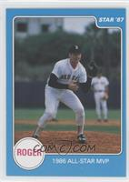 1986 All-Star MVP (Roger Clemens)