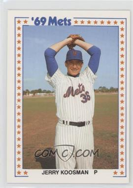 1987 TCMA Baseball's Greatest Teams 1969 New York Mets - [Base] #4-1969 - Jerry Koosman
