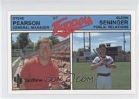 Glenn Seninger, Steve Pearson