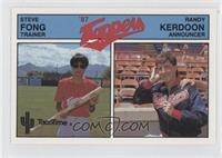Steve Fong, Randy Kerdoon