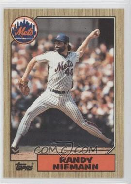 1987 Topps - [Base] - Box Set Collector's Edition (Tiffany) #147 - Randy Niemann