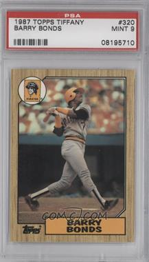 1987 Topps - [Base] - Box Set Collector's Edition (Tiffany) #320 - Barry Bonds [PSA 9]