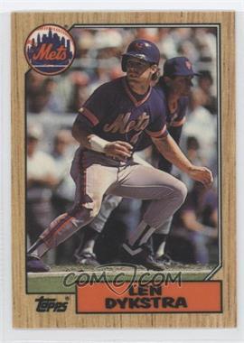 1987 Topps - [Base] - Tiffany #295 - Lenny Dykstra