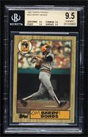 Barry Bonds [BGS 9.5 GEM MINT]