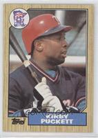 Kirby Puckett (Gary Carter Back)