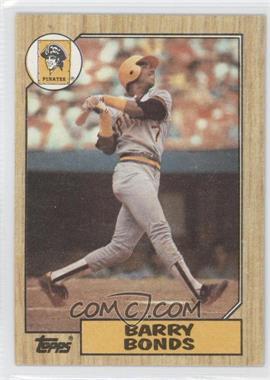 1987 Topps - [Base] #320 - Barry Bonds