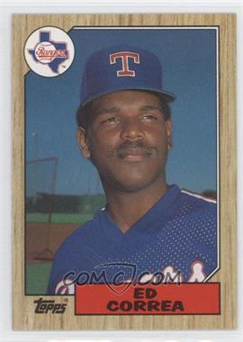 1987 Topps - [Base] #334 - Ed Correa