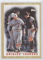 Baltimore Orioles Team, Earl Weaver, Rick Dempsey