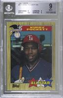 Kirby Puckett [BGS 9 MINT]