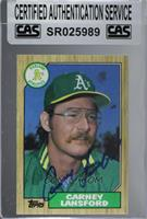 Carney Lansford Baseball Cards