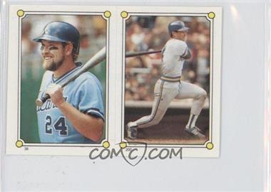 1987 Topps Album Stickers - [Base] #200-38 - Paul Molitor, Ken Oberkfell