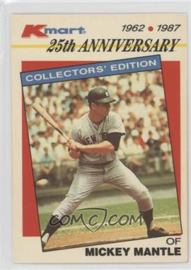 1987 Topps Kmart 25th Anniversary - [Base] #5 - Mickey Mantle